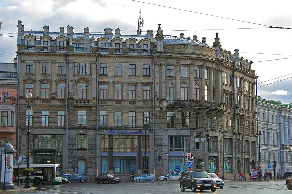 Невский проспект в Санкт-Петербурге. Автор фото: A.Savin (Wikimedia Commons · WikiPhotoSpace)