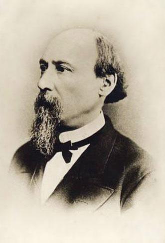Николай Алексеевич Некрасов. Фотогррафія Везенвергъ