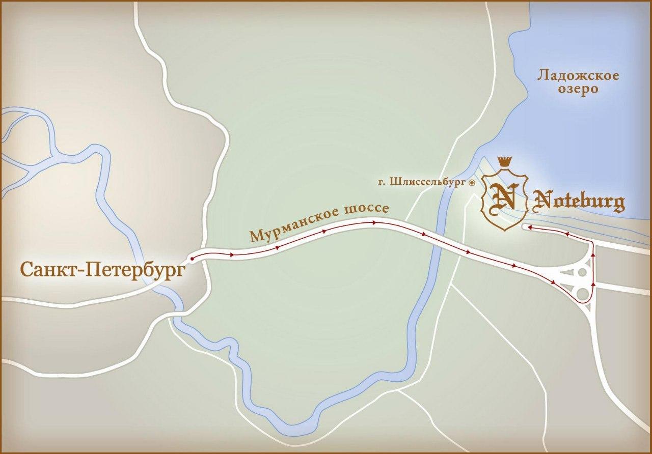 Коттеджный городок Noteburg. Фото: vk.com/kgnoteburg
