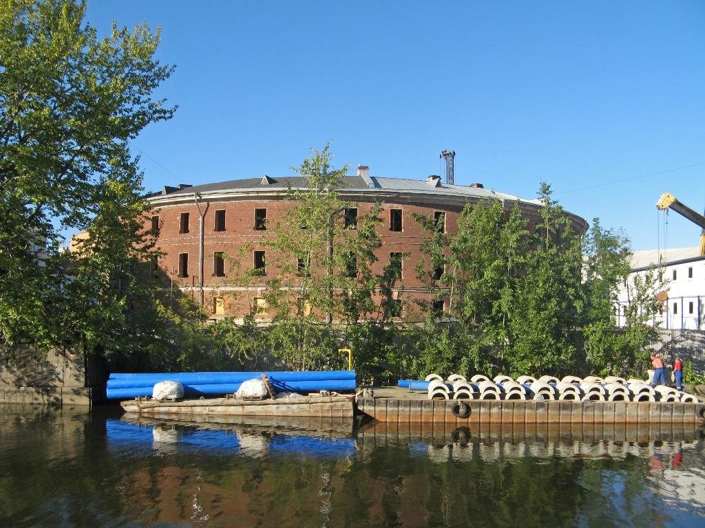 Новая Голландия. Здание Морской тюрьмы. https://commons.wikimedia.org/