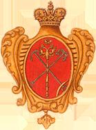 Одна из первых версий Герба в 1730 г. (Wikimedia Commons)