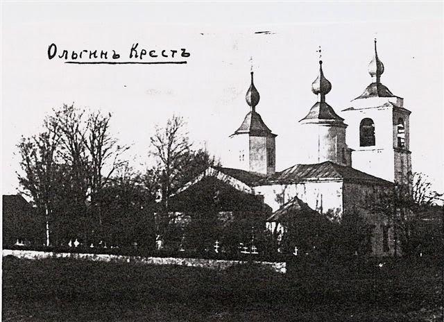 Церковь святого Николая Чудотворца на погосте Ольгин Крест. Фото: Wikimedia Commons