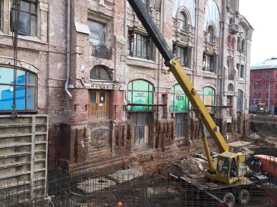 Погребенные этажи или разгаданная тайна подвалов. Фото: 123ru.net