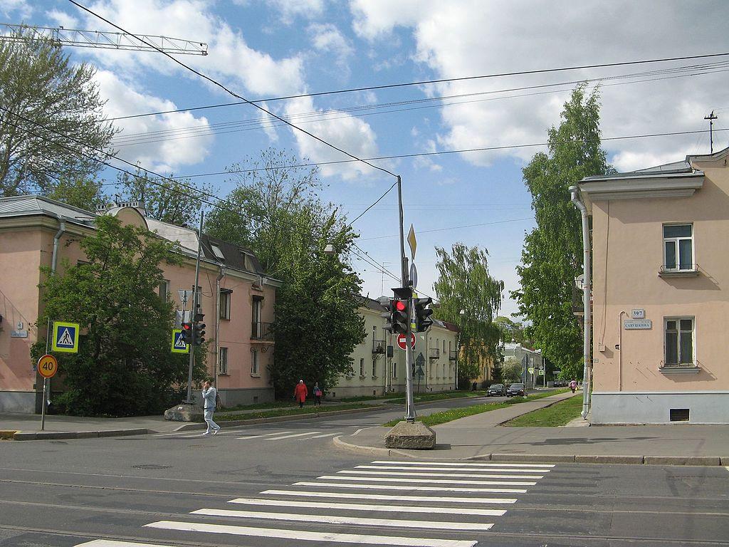 Улица Оскаленко. Фото: Екатерина Борисова