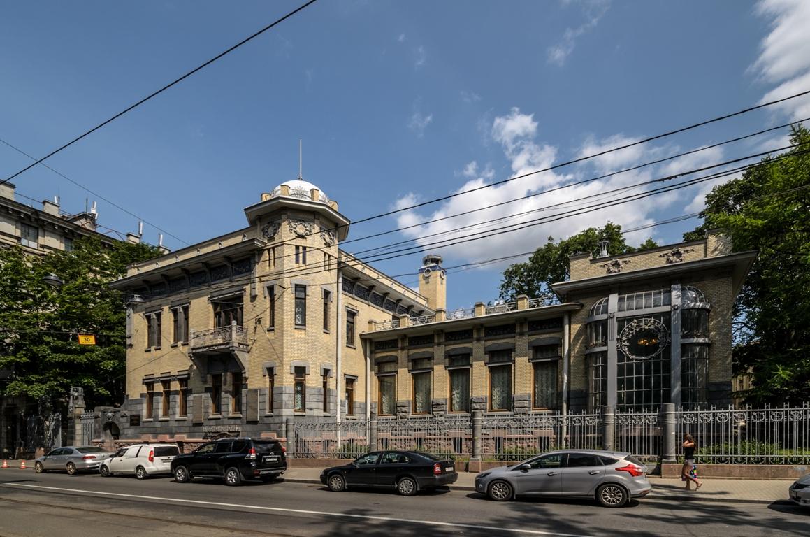 Особняк Матильды Кшесинской в Санкт-Петербурге. Источник: https://commons.wikimedia.org/