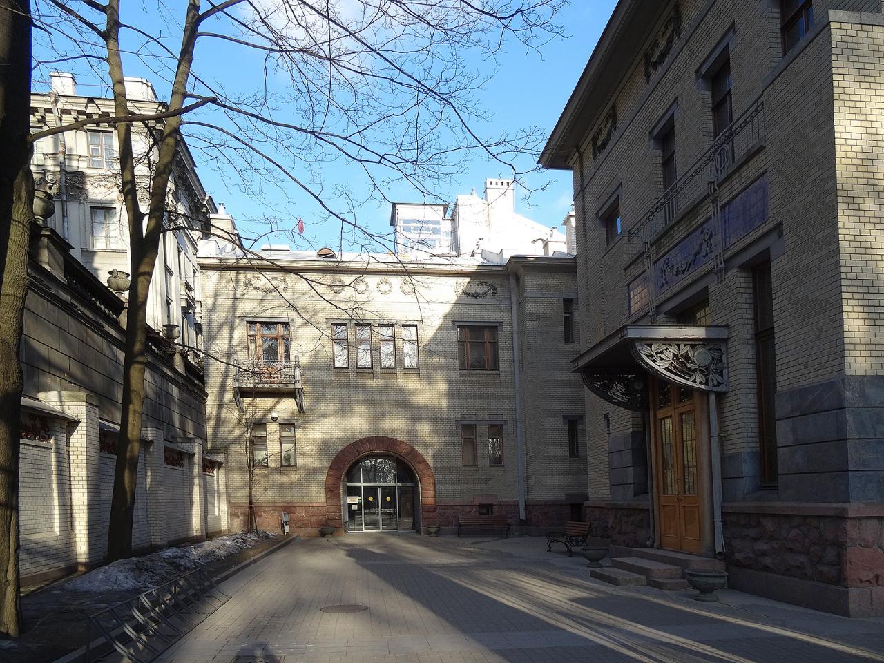 Особняк М. Ф. Кшесинской. Фото: citywalls.ru