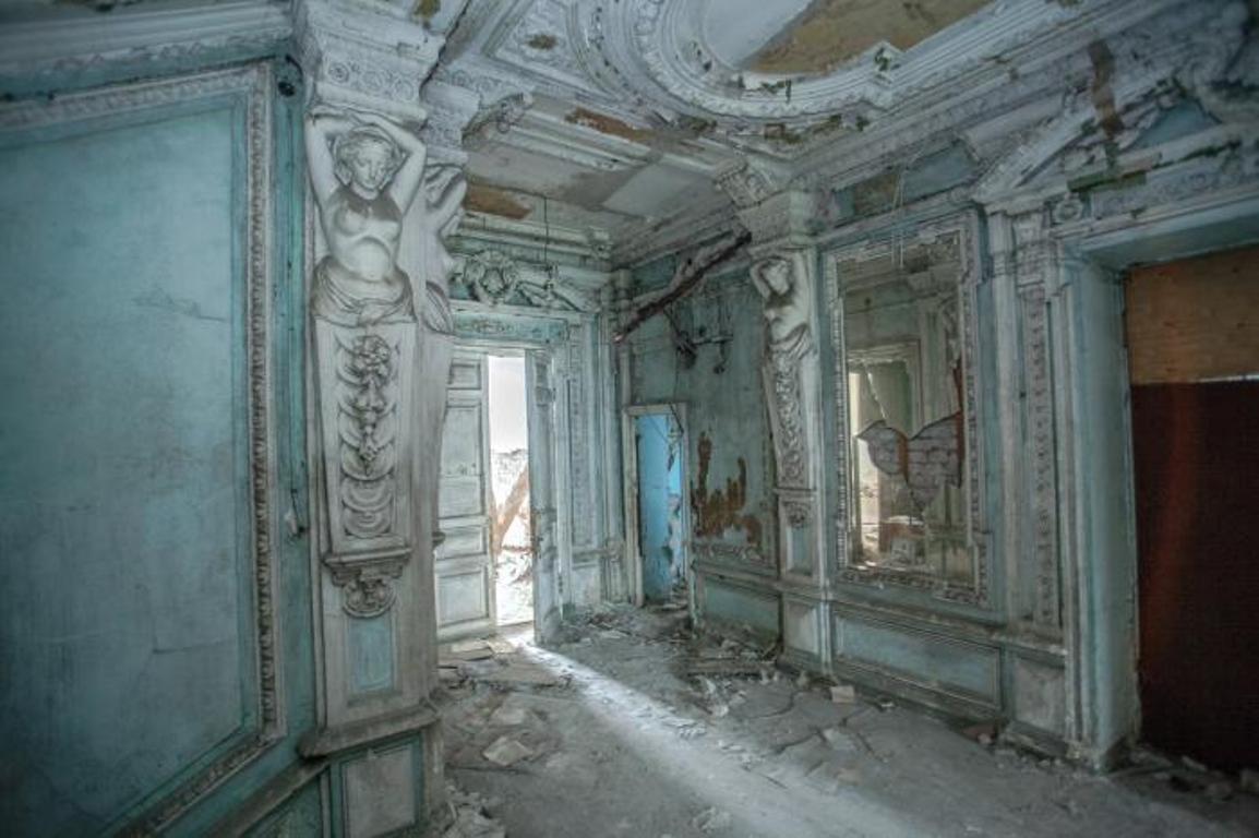 Особняк Веге, внутренние помещения