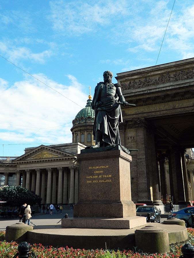 Памятник Барклаю-де-Толли (Санкт-Петербург), источник фото: Wikimedia Commons, Автор: Тара-Амингу