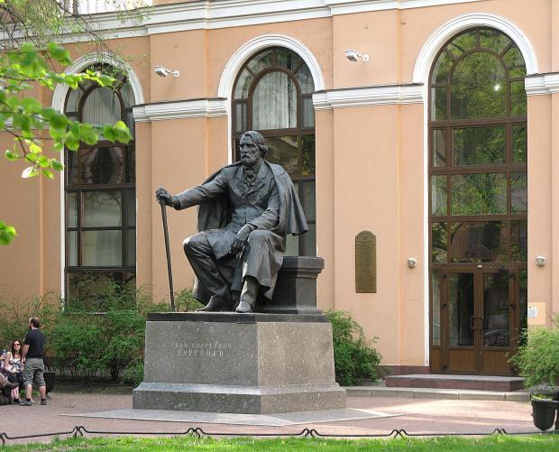 Памятник И. С.Тургеневу. Фото: citywalls.ru