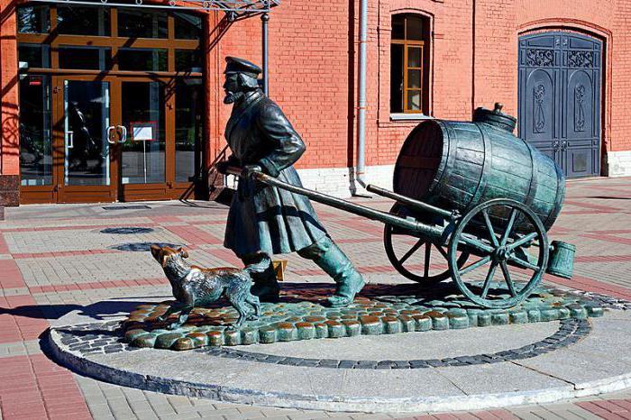 Памятник Петербургскому водовозу