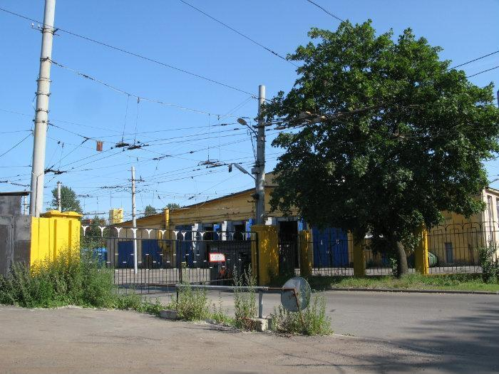 Троллейбусный парк, фото с сайта Wikimapia.org