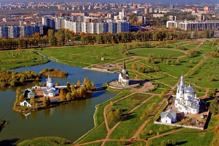 Парк Городов-Героев, фото с сайта Babyblog.ru