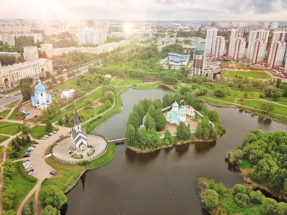 Парк Городов-Героев, фото с сайта Domavspb.com