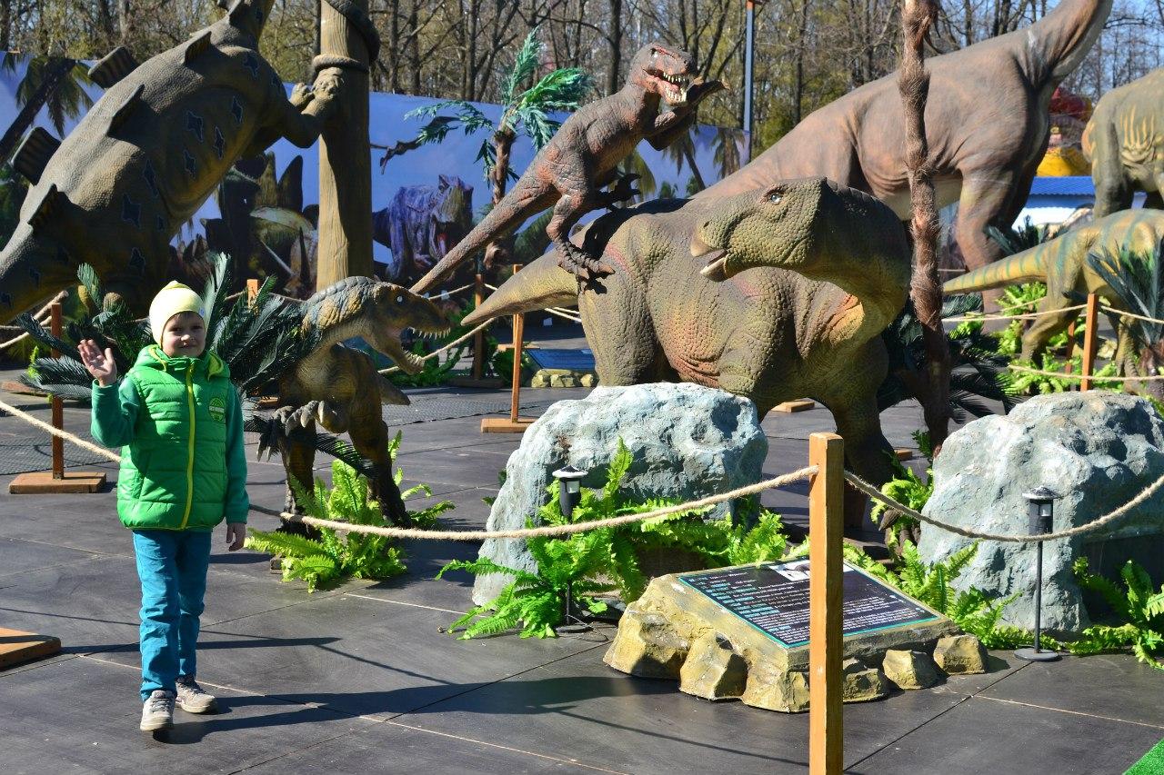 Парк Динозавров в Санкт-Петербурге