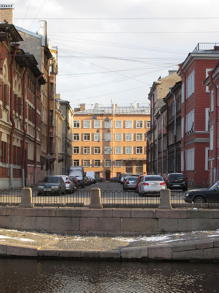 Улица Пасторова в Санкт-Петербурге, источник фото: Wikimedia Commons, Автор: ArtTrapeza
