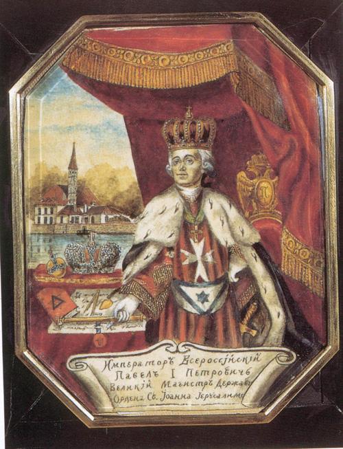 Портрет Павла I. Неизвестный художник. https://commons.wikimedia.org