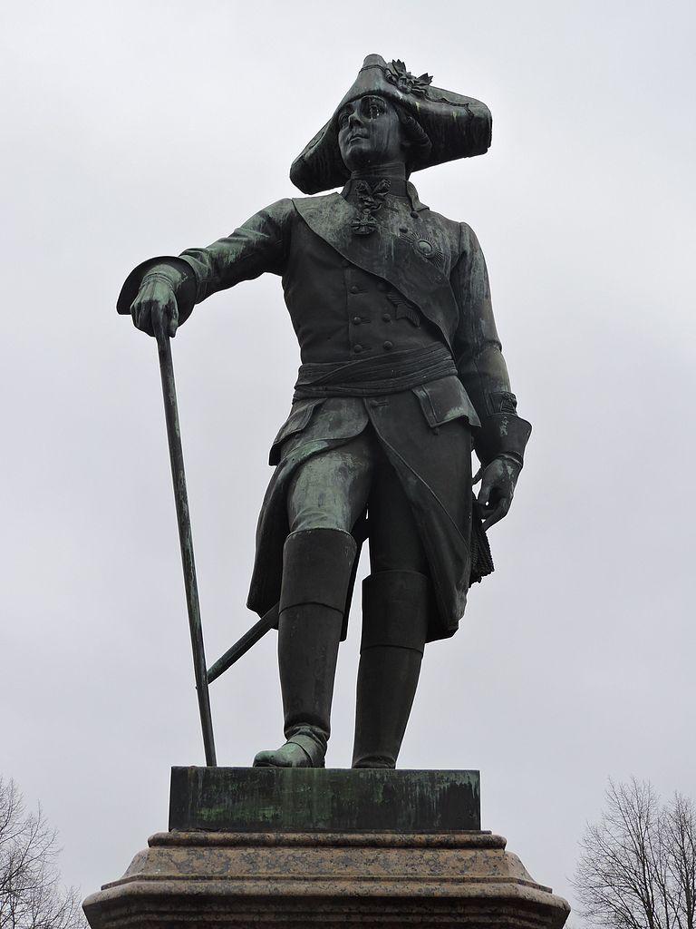 Памятник Павлу I, 1851 г.. Фото: Monoklon из русский Википедия