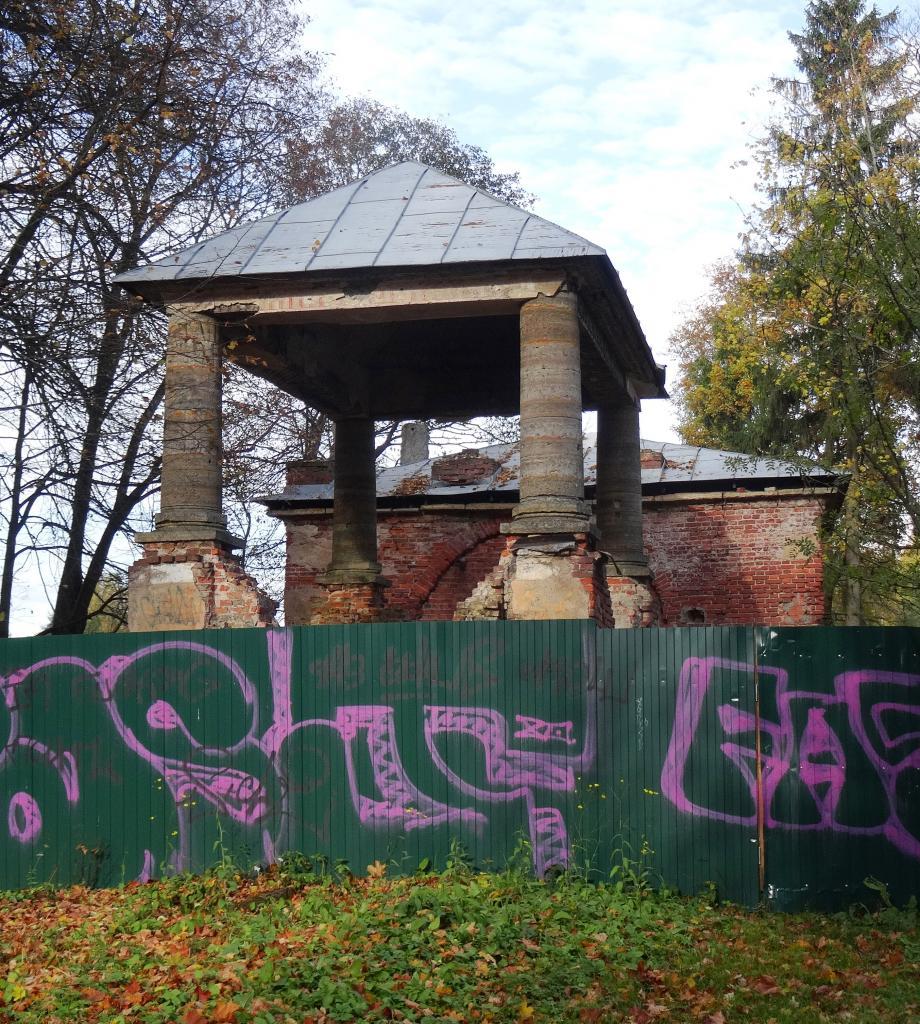 Павильон Елизаветин в Павловском парке. Фото: citywalls.ru