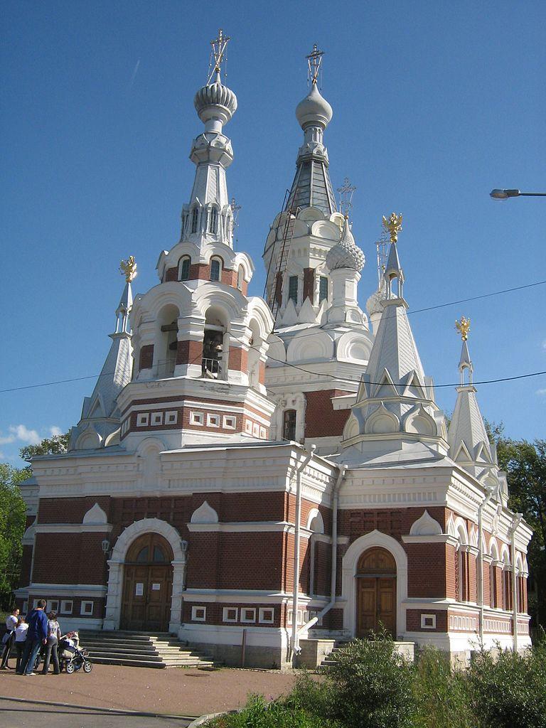 Павловск. Артиллерийская улица, Собор Николая Чудотворца. Автор фото: Peterburg23 (Wikimedia Commons)