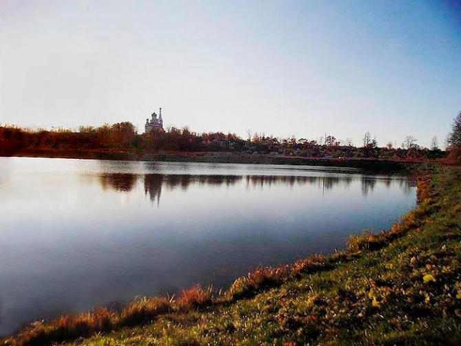 Виды Церковного пруда. Петергоф, Луговой парк, 1. Фото: citywalls.ru