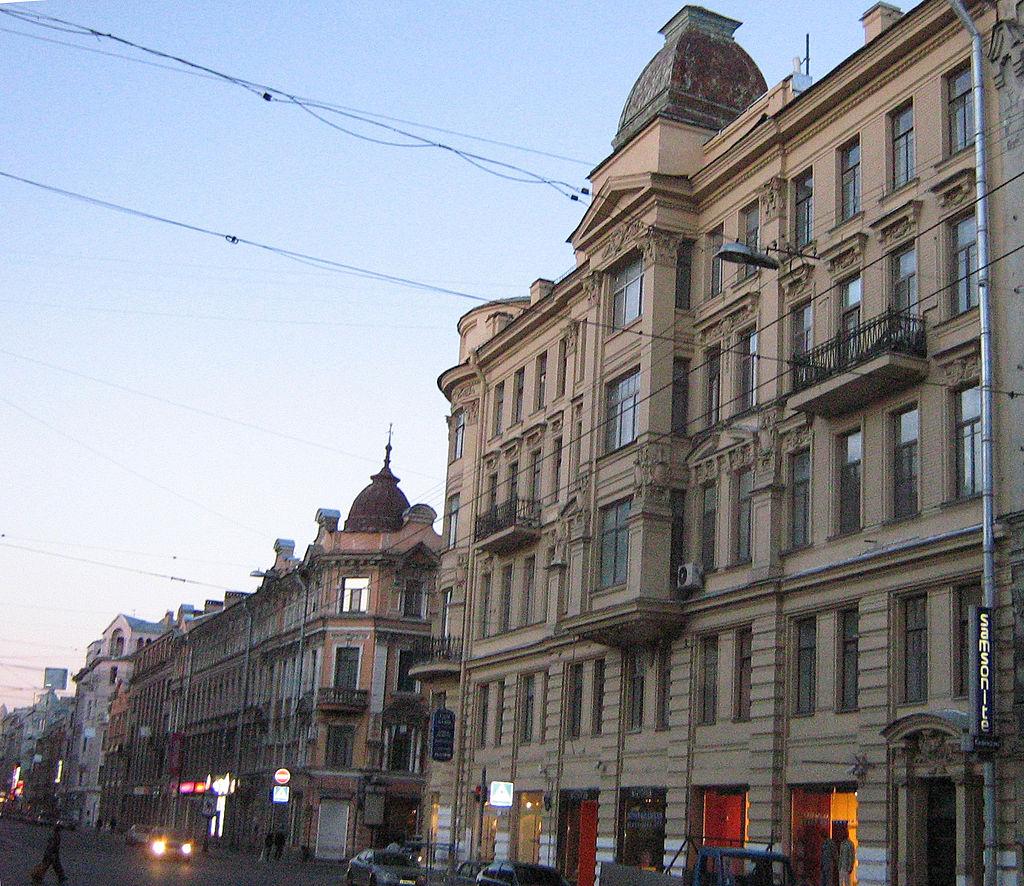 Петроградский остров. Большой проспект. https://commons.wikimedia.org/