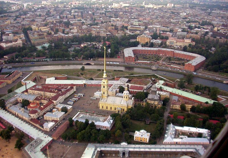 Петропавловская крепость, источник фото: Wikimedia Commons, Автор: Ssr