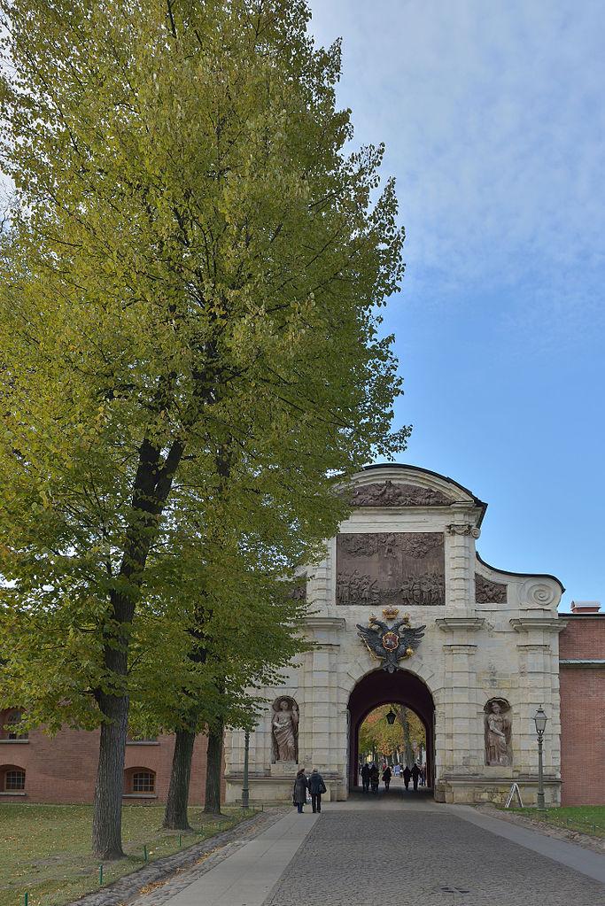 Петровские ворота крепости. Фото: Wolfgang Moroder