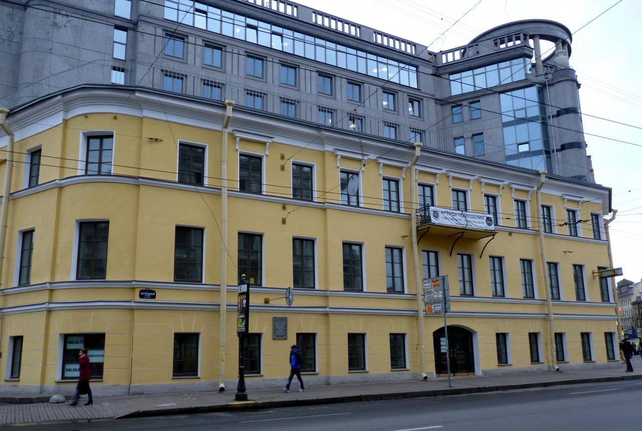 Дом Дельвига. Фото - owlat, 10.2014 (citywalls.ru)