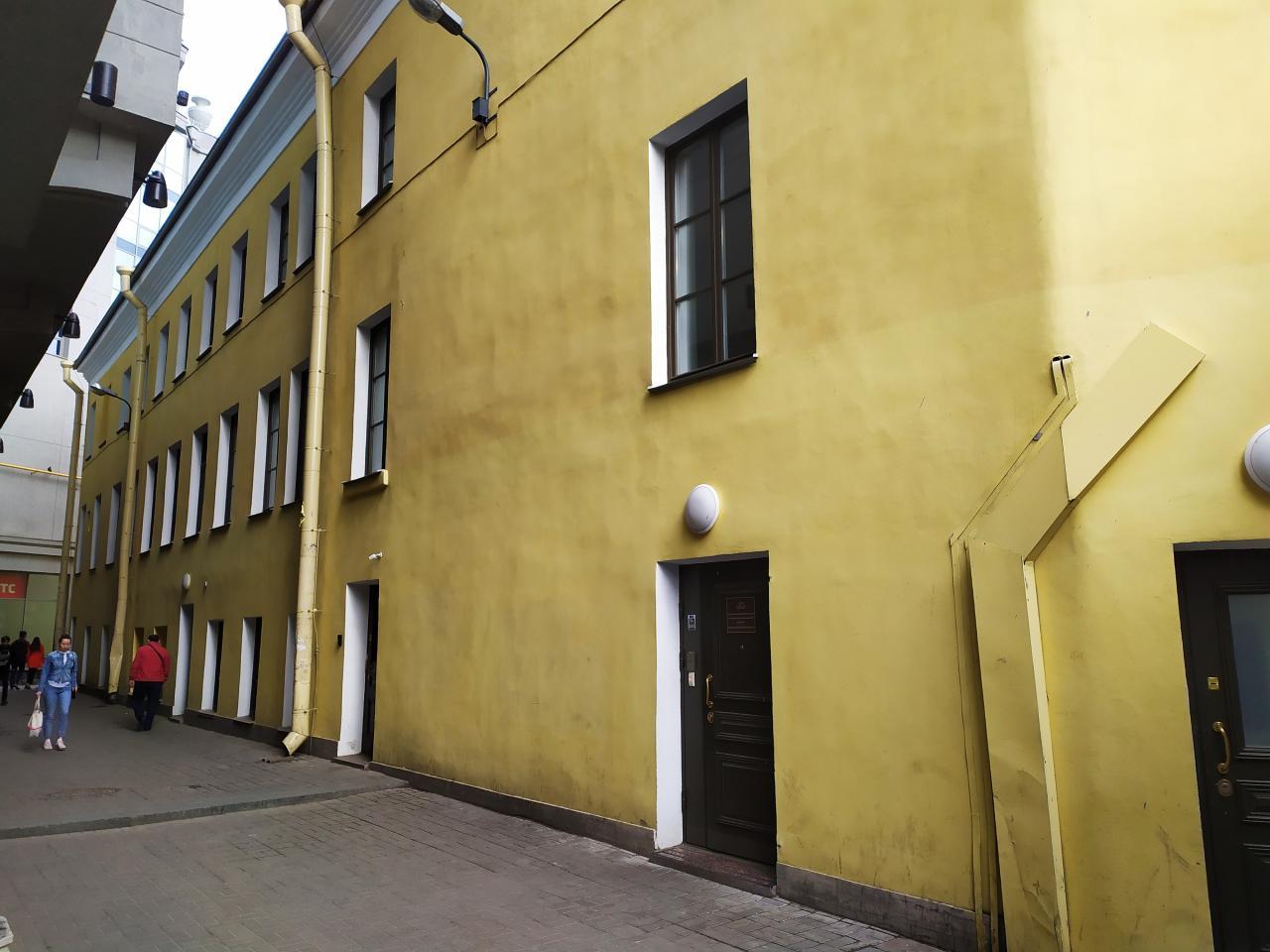 Дворовый фасад. Фото: citywalls.ru