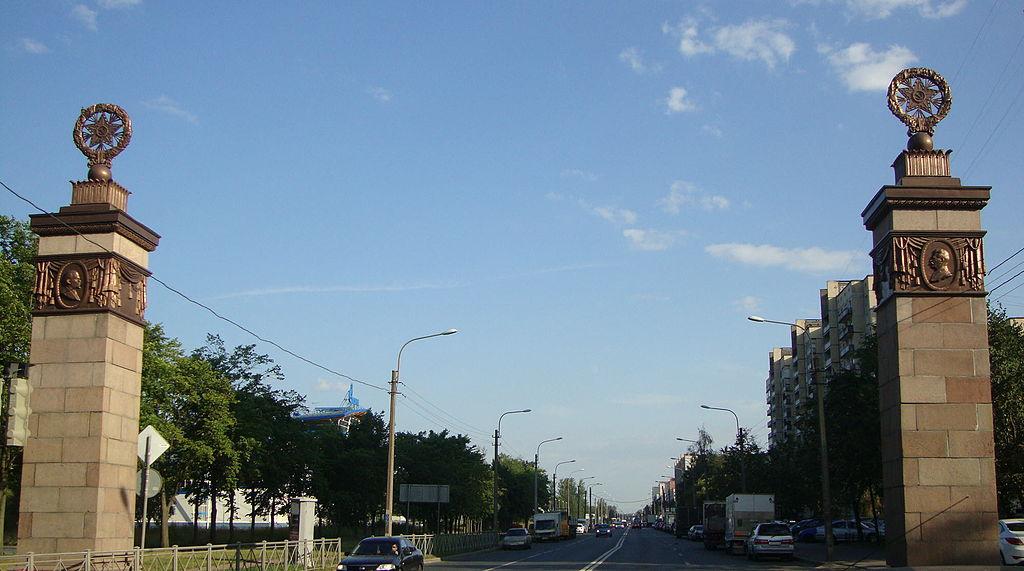 Триумфальные пилоны. Фото: Shogiru