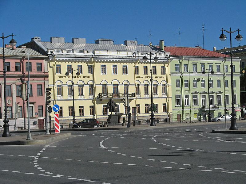 Дом архитектора П.А. Трезини. Автор: Надежда Пивоварова, Wikimedia Commons