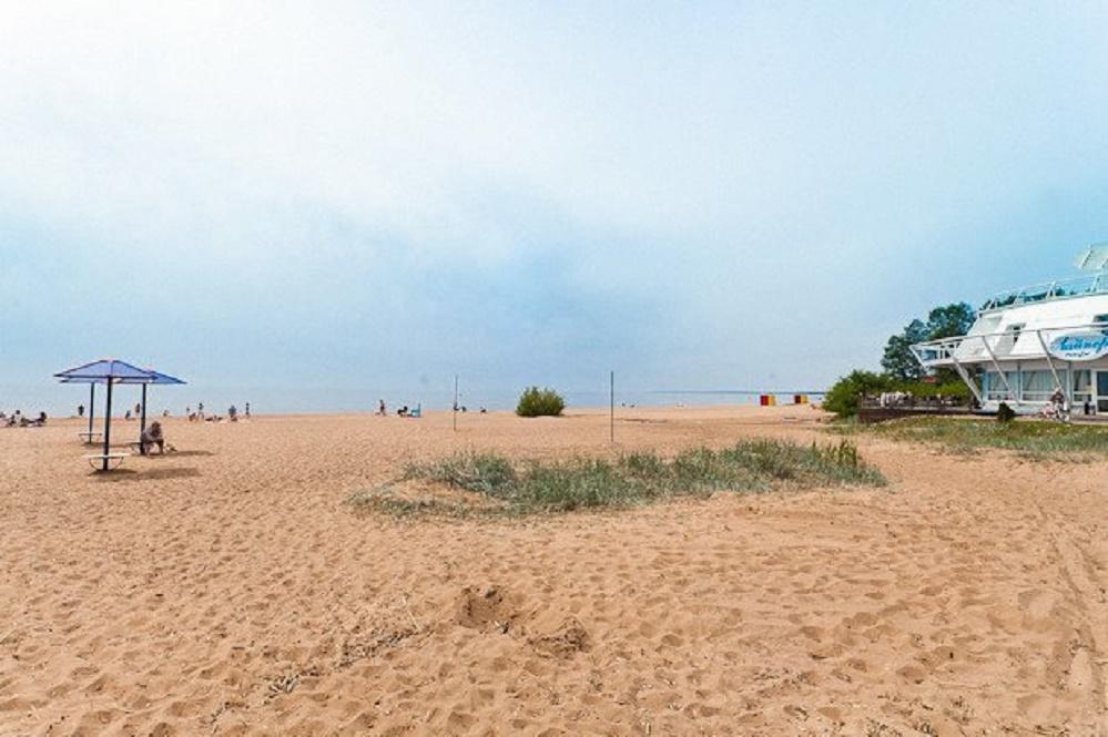 Пляж в Комарово