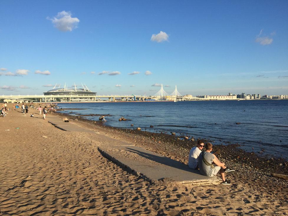 полезна фото с пляжей санкт петербурга популярность самоклеющихся