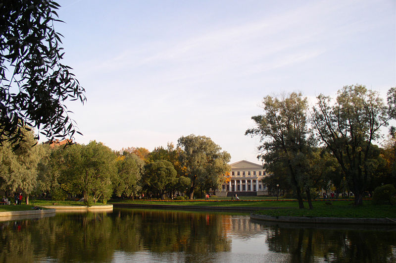 Юсуповский сад, источник фото: Wikimedia Commons, Автор: Sergey Kudryavtsev