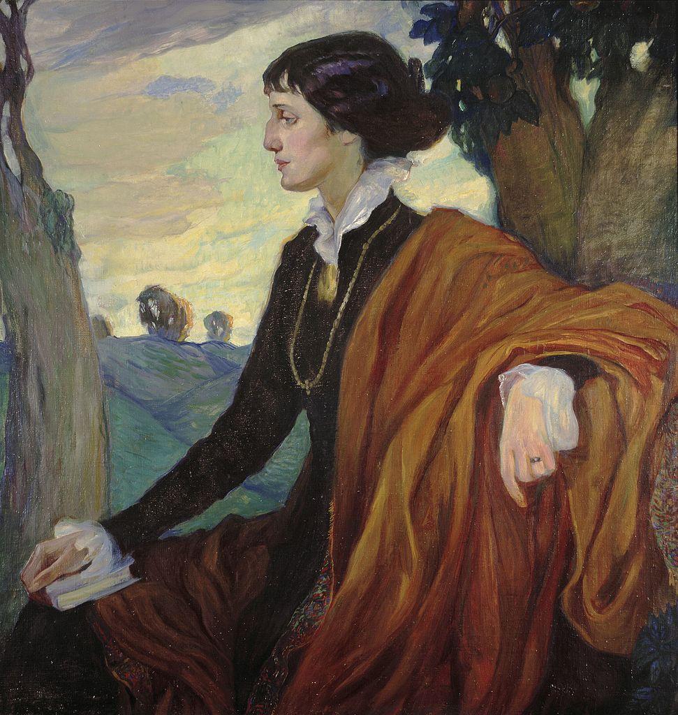Портрет Ахматовой работы Ольги Кардовской, 1914 г. Источник: Wikimedia Commons