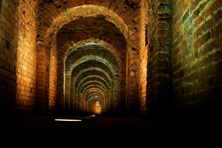Петропавловская крепость. Подземный ход. Антоний Анисимов https://commons.wikimedia.org