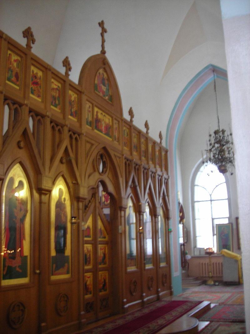 Иконостас церкви. Автор: Medved', Wikimedia Commons