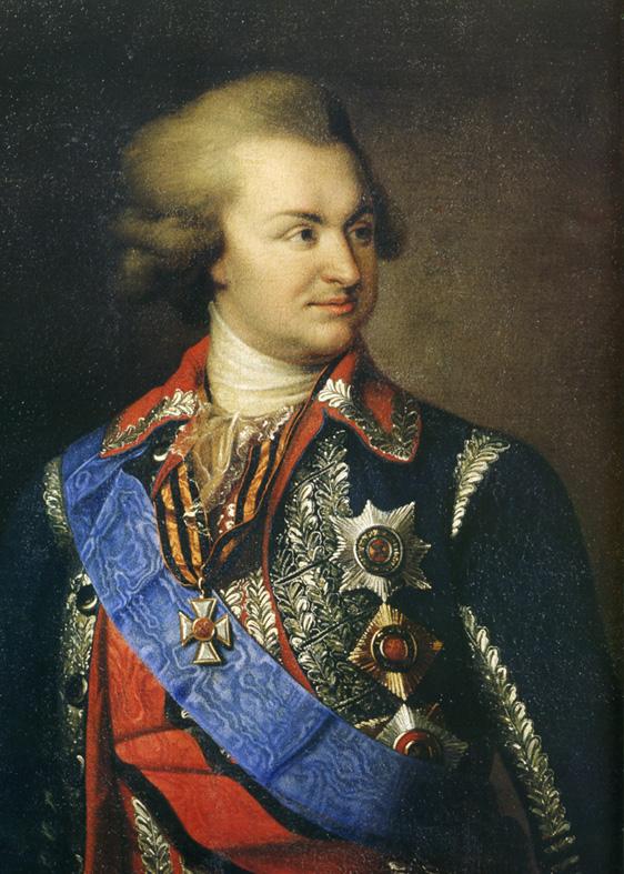 Г. А. Потемкин-Таврический, (1739—1791). Автор портрета: неизвестен (Wikimedia Commons)