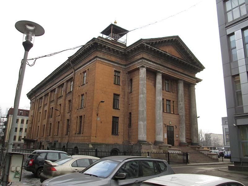 Проспект Стачек, 48А, Путиловская церковь, источник фото: Wikimedia Commons, Автор: Peterburg23