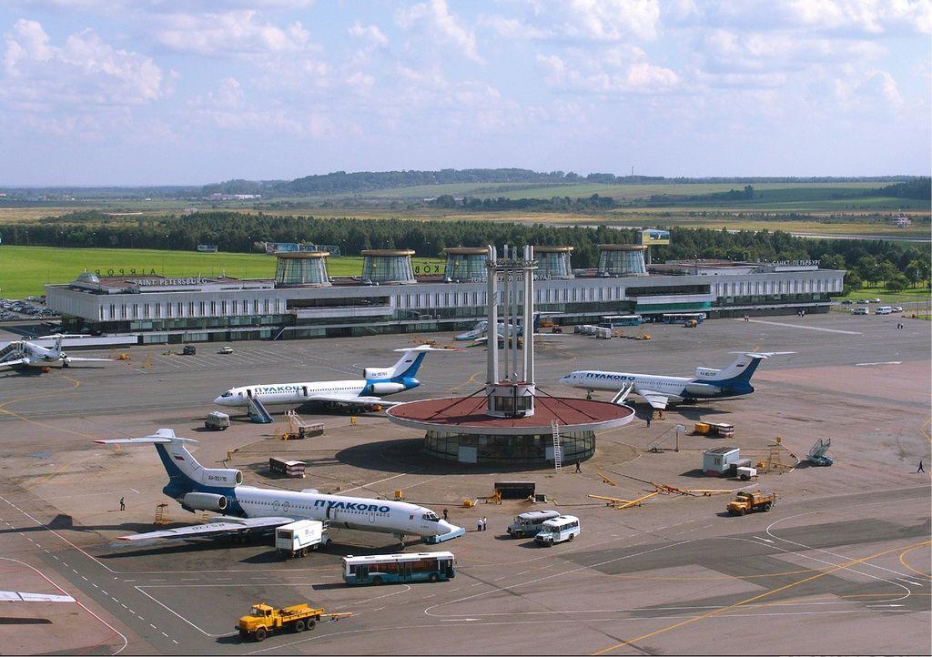 """Аэропорт """"Пулково"""". Фото: Dmitry Avdeev"""