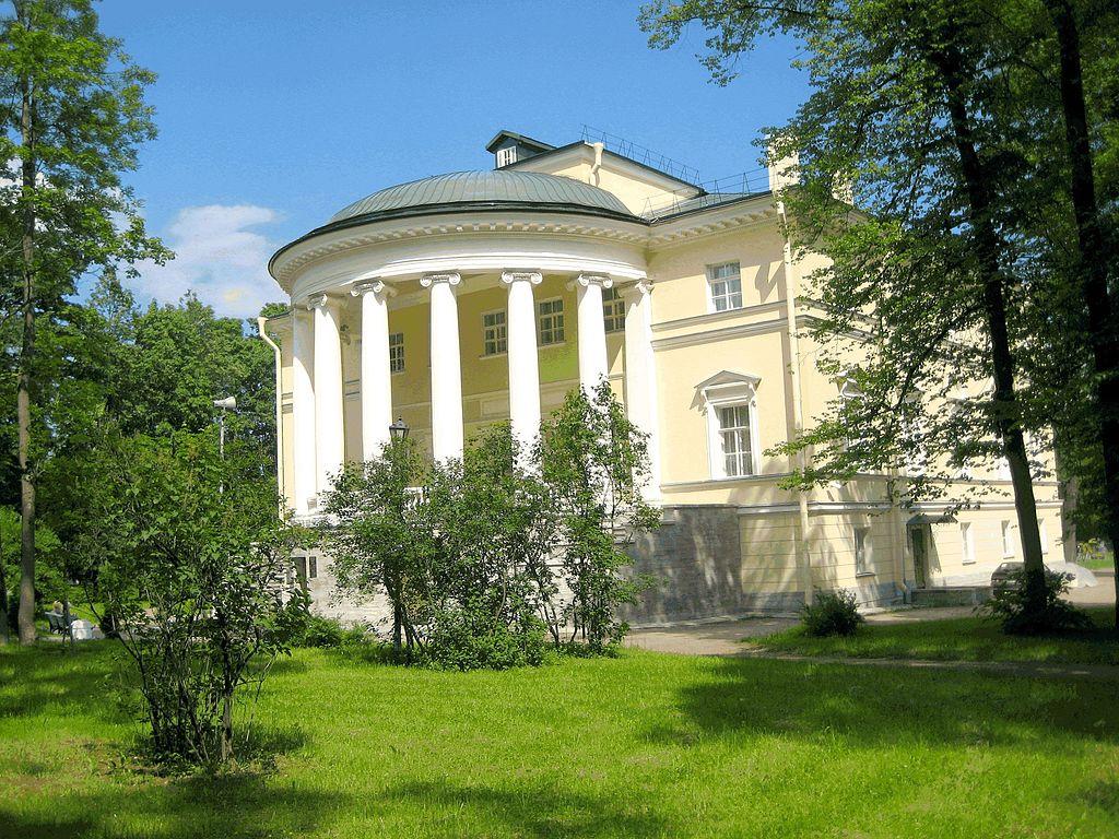 Царскосельский Запасной дворец в Пушкине. Фото: GAlexandrova (Wikimedia Commons)