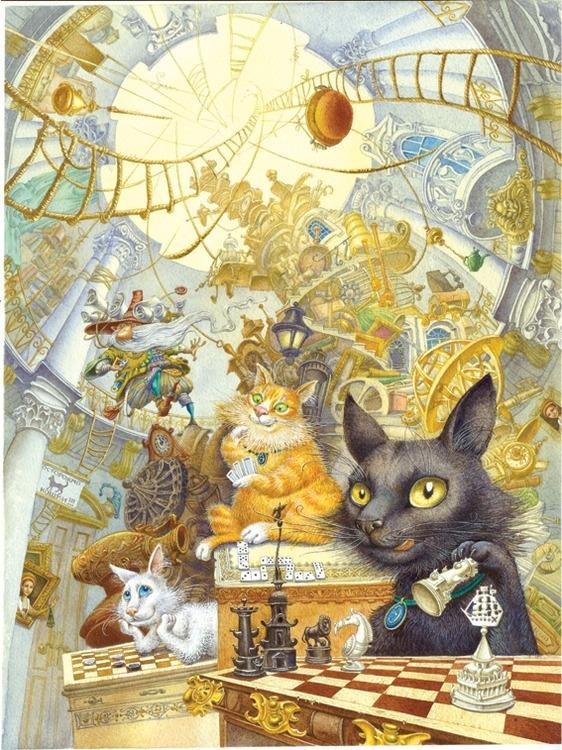 Волшебная сказка про эрмиков. Фото: vk.com/hermitage_cats
