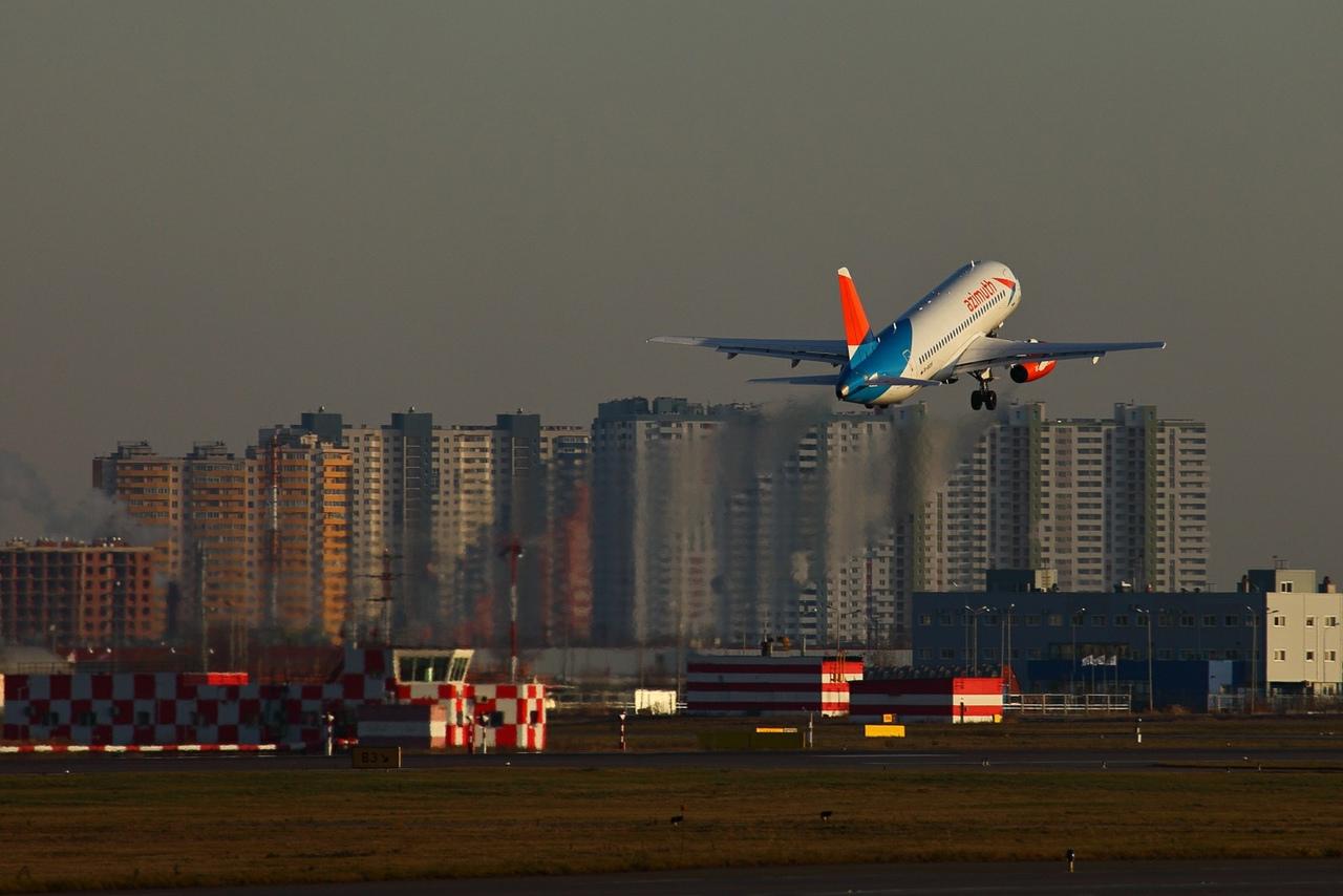 Аэропорт Пулково 22 ноября 2019 года - Осенний споттинг в Пулково