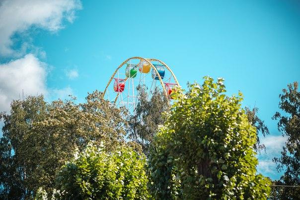 Парк культуры и отдыха имени И. В. Бабушкина. Автор: Наталья Белых Фото: vk.com/parkskazok