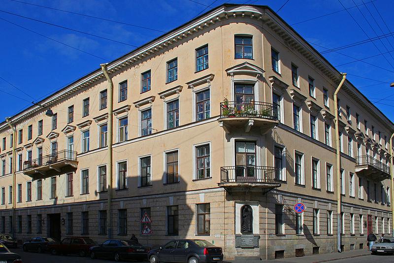 Дом Родиона Раскольникова, Author: A.Savin (Wikimedia Commons · WikiPhotoSpace)