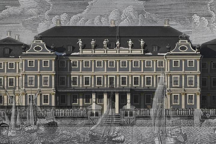 Первоначальный вид Меншиковского дворца. Фото: СПбГУ