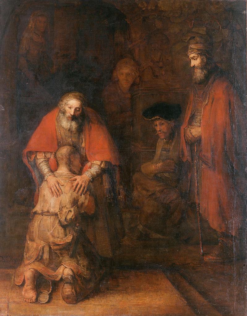 Рембрандт Возвращение блудного сына. (Wikimedia Commons)