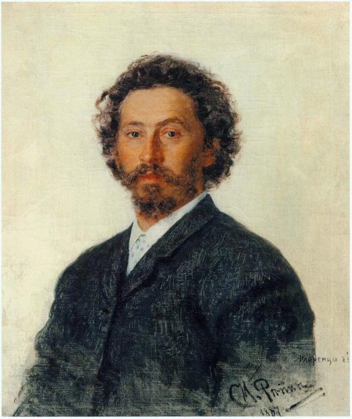 Автопортрет. Илья Репин, 1887 г. Источник: Wikimedia Commons