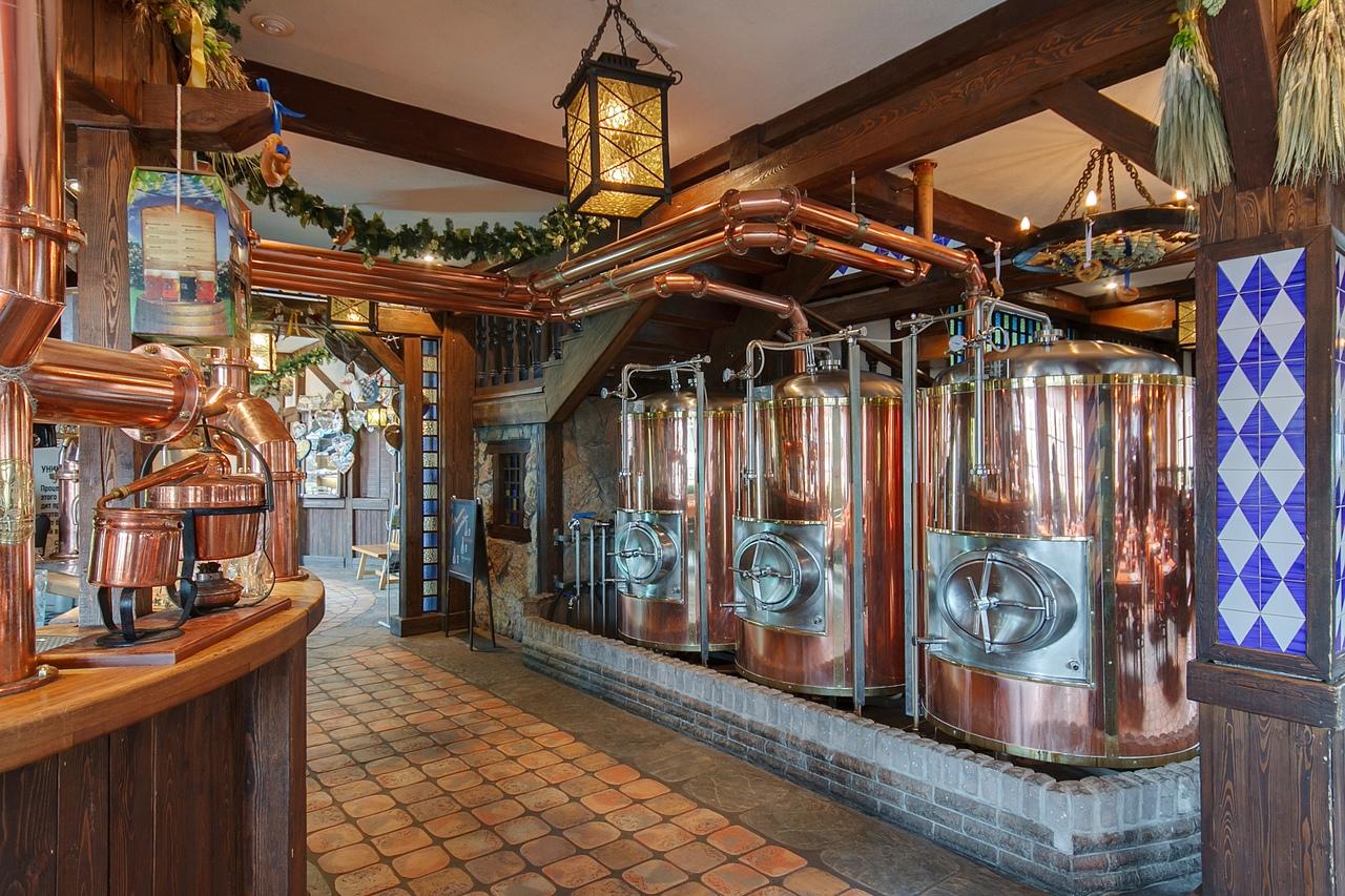"""Ресторан-пивоварня """"Карл и Фридрих"""". Фото: vk.com/karlandfriedrich"""