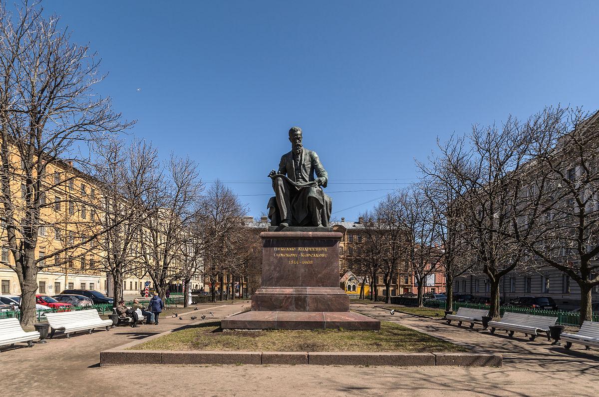 Памятник Н. А. Римскому-Корсакову. Фото: Florstein (WikiPhotoSpace)
